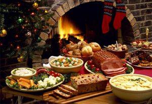 Món ăn truyền thống của Giáng Sinh