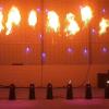 máy lửa sân khấu